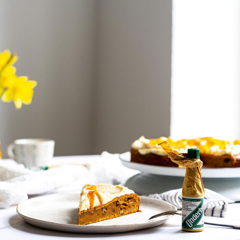 Carrot Cake with Underberg Frosting