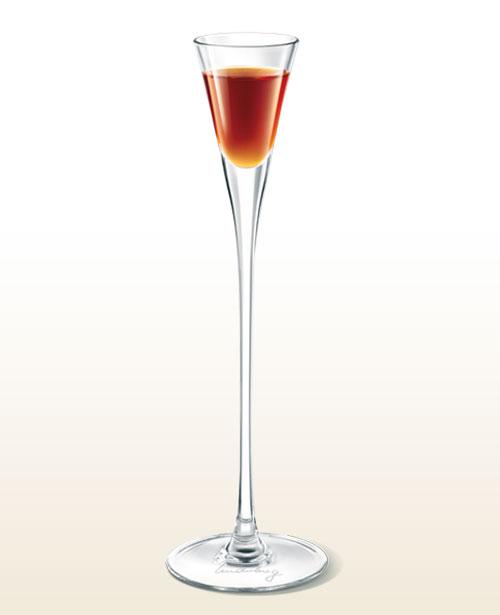 Underberg tall glass