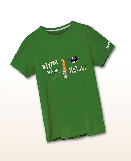 "Underberg T-shirt ""Bitter by nature"""
