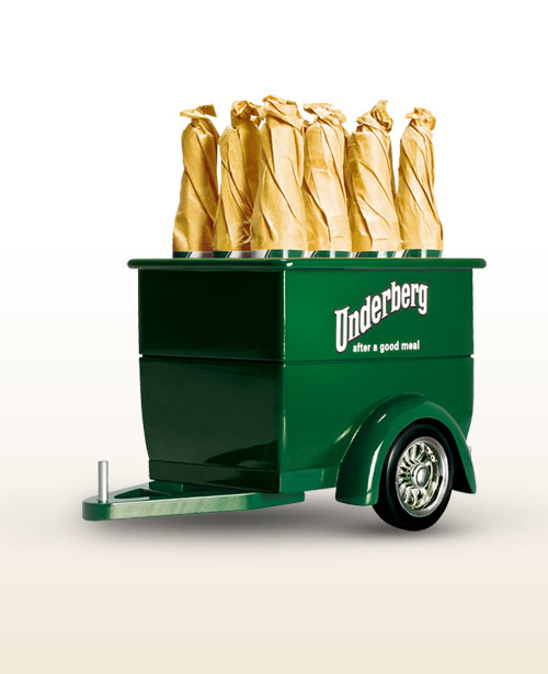 Underberg herbal trailer