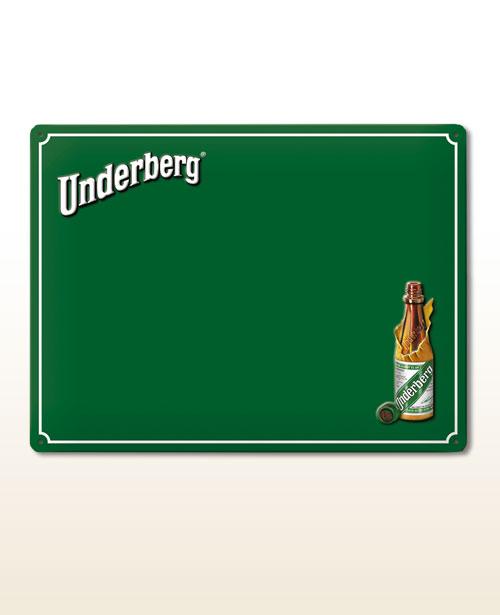 quadro de avisos Underberg incl. 5 magnéticas