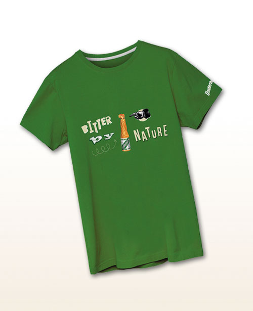 "Underberg T-Shirt ""Bitter by Nature"""