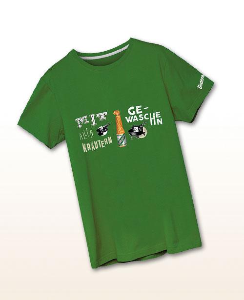 """Underberg T-Shirt """"Mit allen Kräutern gewaschen"""""""""""